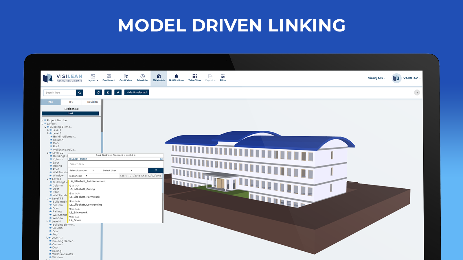 MODEL DRIVEN LINKING