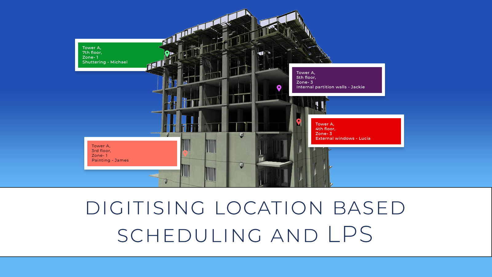 Digitising Location Based Scheduling and LPS