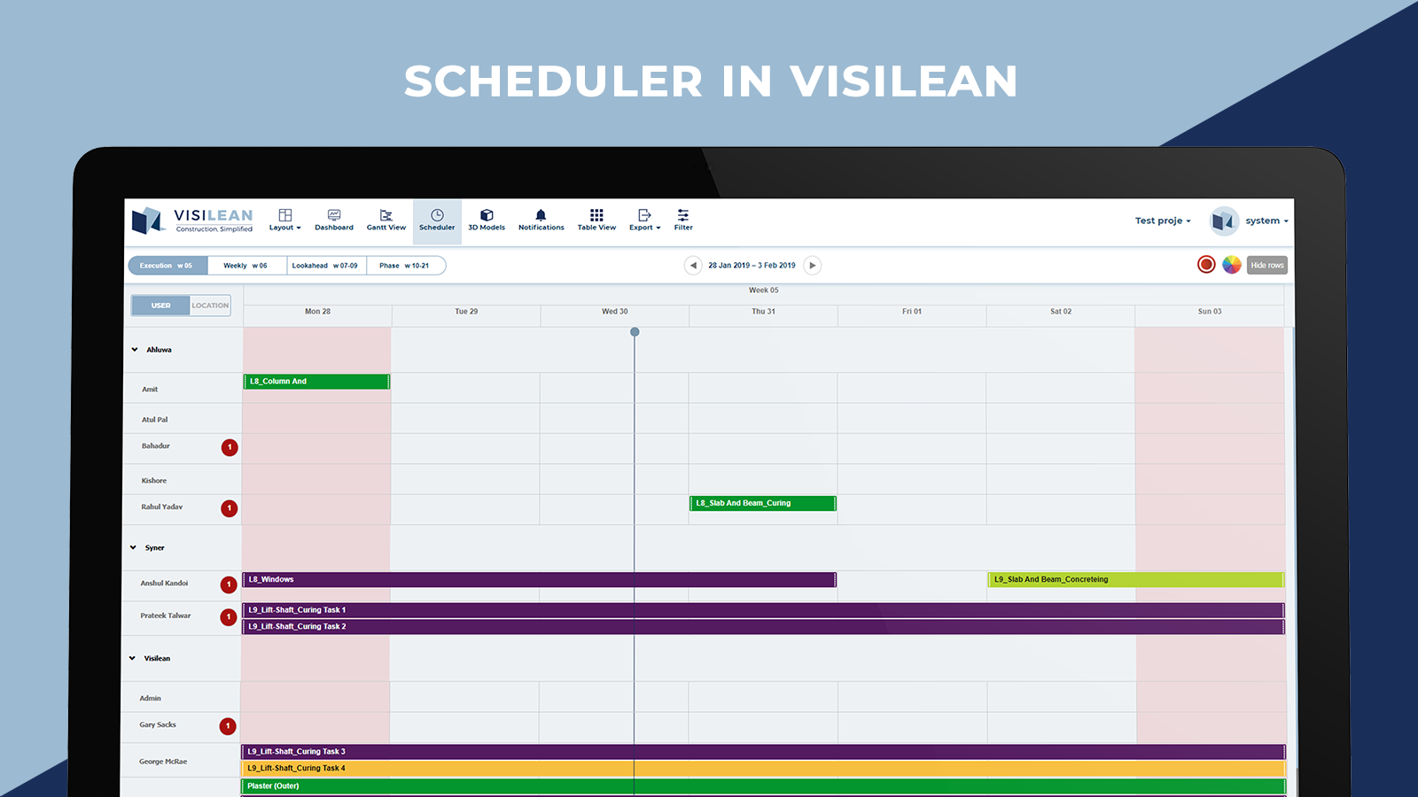 Scheduler in Visilean
