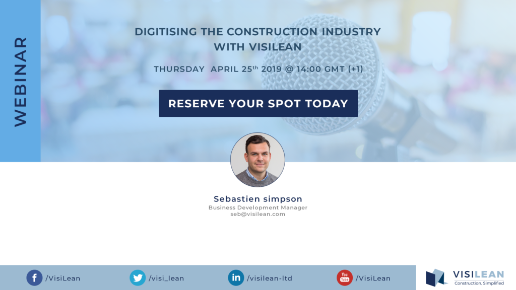 Digitising the construction industry with visilean