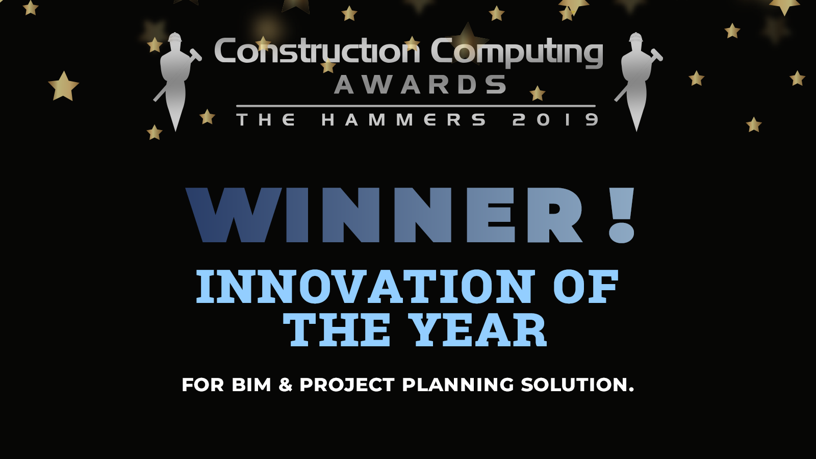 winner of innovation of the year at construction computing awards