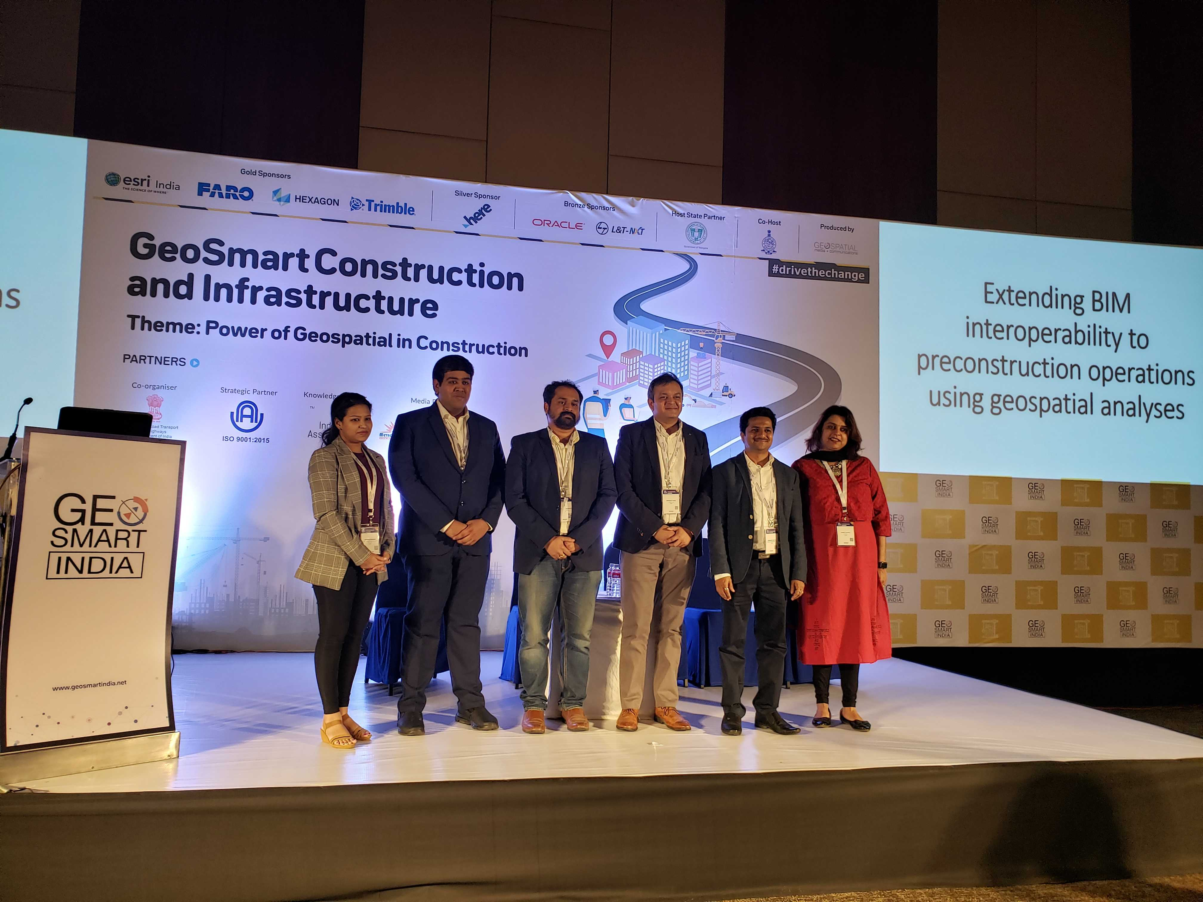 VisiLean CEO, Dr. Bhargav Dave, will be presenting our award-winning Digital Construction Management solution, that enables Integration of Lean workflows for delivering successful BIM projects, as a Session Speaker at the Conference.